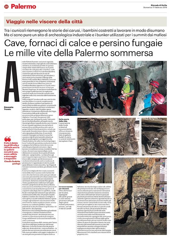 """, Muchate e  Fornaci Maiorana: successo di pubblico e tante richieste per la visita """"sotto"""" Palermo"""