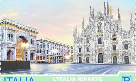 Roma, Venezia, Firenze, Milano, Napoli e Palermo: sei francobolli con le immagini icona per la ripartenza del turismo