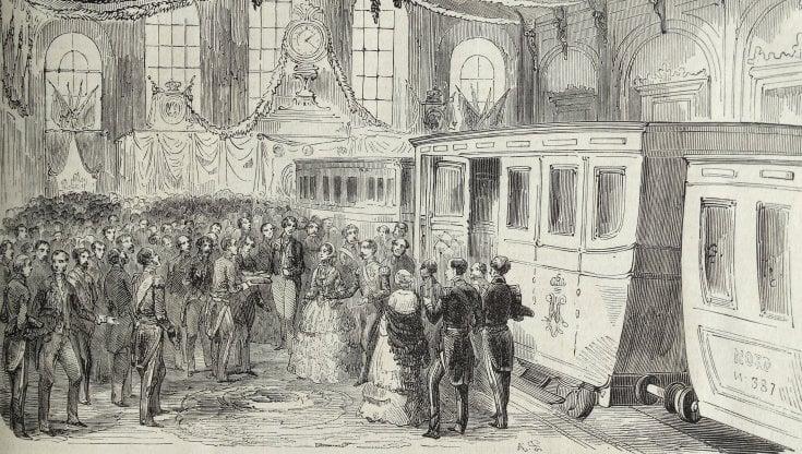 La storia dei treni. E i treni che fanno la storia. Da Napoleone a Merkel e Obama, tutti pazzi per la rotaia