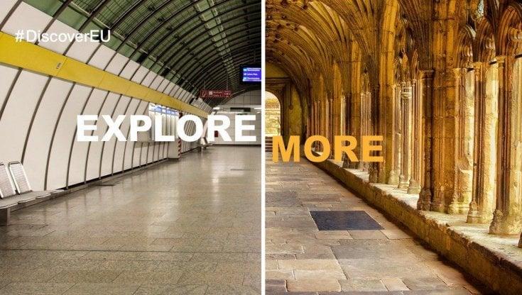 Interrail, DiscoverEU riparte e raddoppia: 60mila pass per premiare i giovani più curiosi